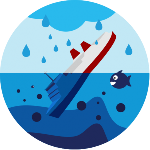 Bootsmotoren und Öl können Gewässer verunreinigen